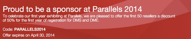 Partner discounts for Parallels attendees
